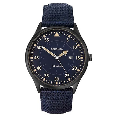 Sekonda Gents Sports Watch with Fabric Strap