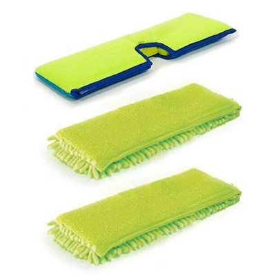H2O e3 Cloth Pack inc. 2 x Double Sided Coral Fingers Cloth and 1 x Double Sided Scrubber