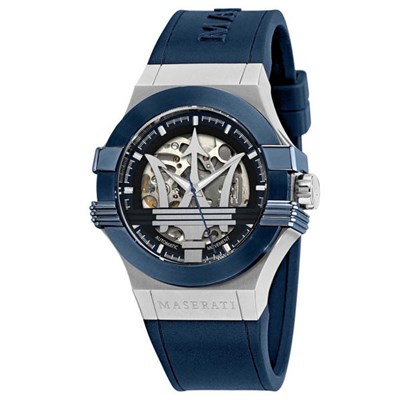 Maserati Gent's Potenza Automatic Watch with Silicone Strap