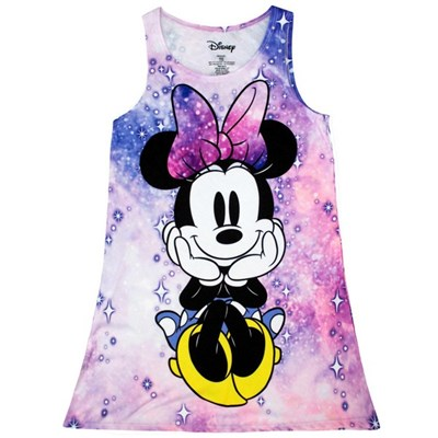 Minnie Mouse Space Pink Youth Girls Dress
