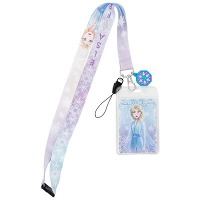 Frozen 2 Elsa Dangle Lanyard