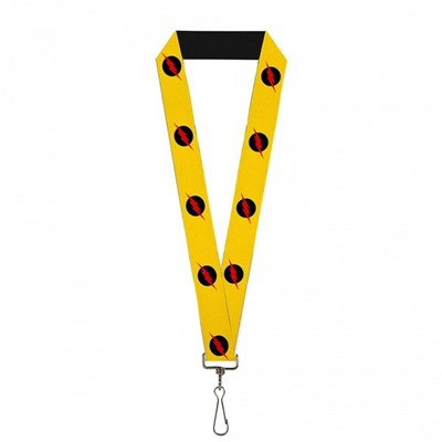 Reverse-Flash Yellow Lanyard