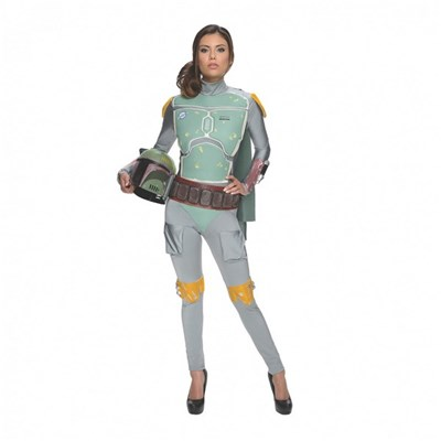 Star Wars Boba Fett Adult Womens Costume
