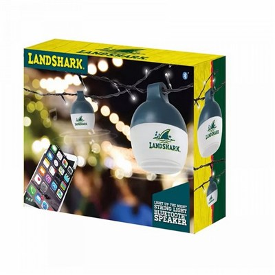 LandShark String Lights With Bluetooth Speakers