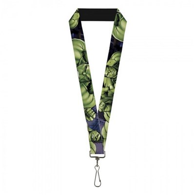 Marvel Avengers The Incredible Hulk Close Up Poses Lanyard