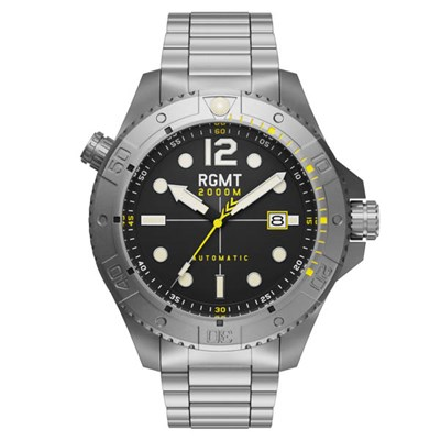 RGMT Gents Demolition Automatic Watch with Stainless Steel Bracelet