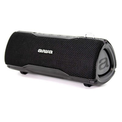 Aiwa BST-500 Stereo Wireless Bluetooth Waterproof Loudspeaker 2x12W RMS AUX IN - Black