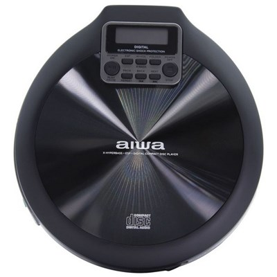 Aiwa PCD-810 Portable CD Player - Black