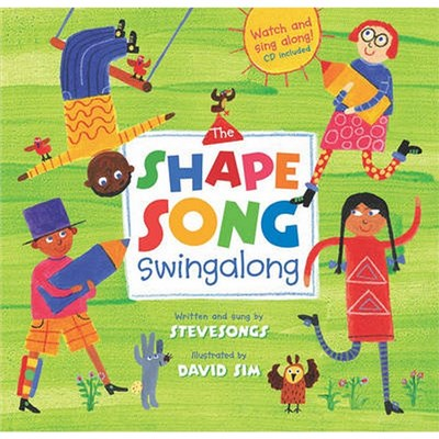 The Shape Song Singalong by Steve Songs
