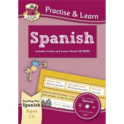 Practise & Learn: Spanish for Ages 7-9 - with vocab CD-ROM by Fernando Vallejo|Fernando Vallejo