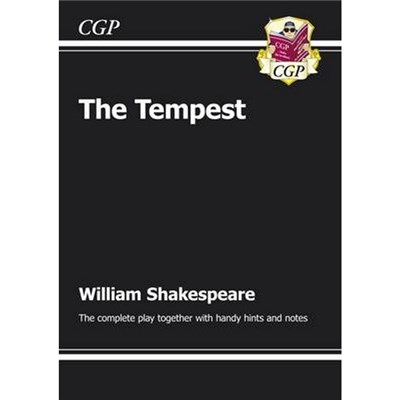 KS3 English Shakespeare The Tempest Complete Play (with notes) by CGP Books