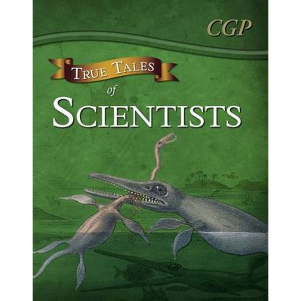 True Tales of Scientists - Reading Book: Alhazen, Anning, Darwin & Curie by CGP Books No Size No Colour