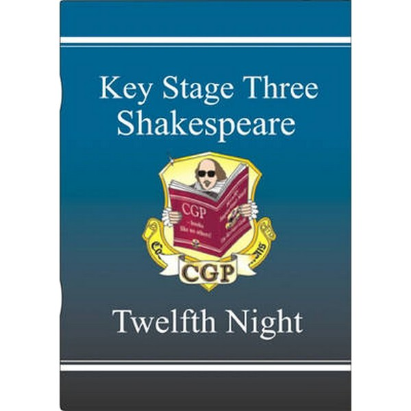 KS3 English Shakespeare Text Guide - Twelfth Night by CGP Books No Size No Colour