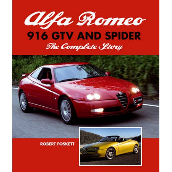 Alfa Romeo 916 GTV and Spider by Robert Foskett No Size No Colour