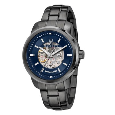 Maserati Gents Successo Automatic Watch with Stainless Steel Bracelet