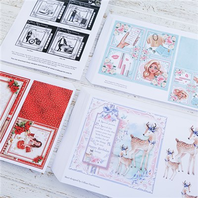CraftsUprint Bumper Collection 4 - 144 Printed Sheets & 144 Matching Downloads