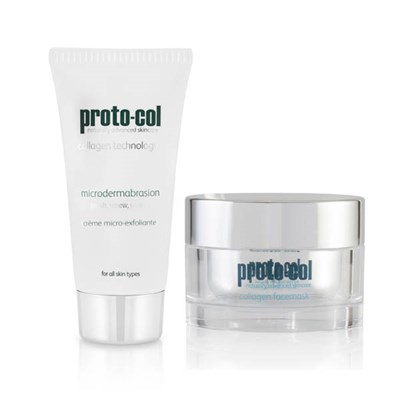 Proto-col Skin Spring Clean Duo (Microderm 60ml, Face Mask 50ml)