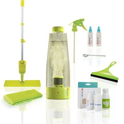 H2O E3 Natural Multi-Purpose Cleaning System with Activator Bottle and Prep & Protect