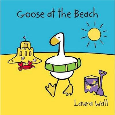 Goose at the Beach by Laura Wall