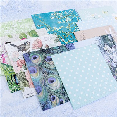 Anna Marie Designs Assorted Everyday Napkin Pack 10 - Set 1