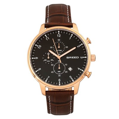 Breed Gents Holden Watch with Genuine Leather Strap