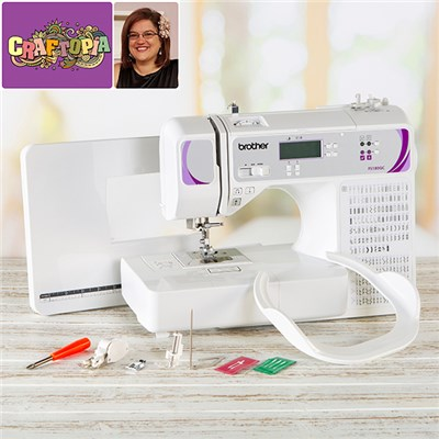Brother FS180QC Sewing Machine with FREE Craftopia Online Workshop Quilt Shop with Sarah Payne on 30th May 2021