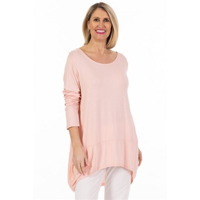 Fizz Pink Panelled Tunic