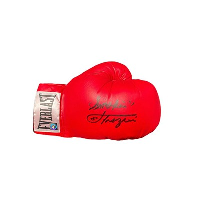 Joe Frazier Personally Signed Boxing Glove