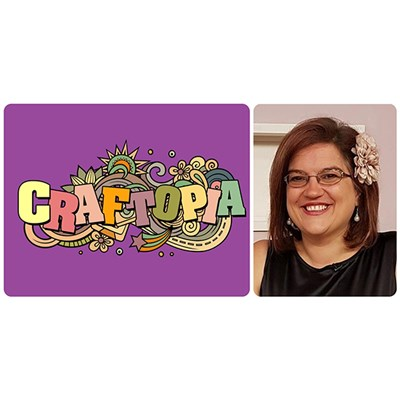 Craftopia Online Facebook Workshop with Sarah Payne on Sunday 30th May at 2pm GMT