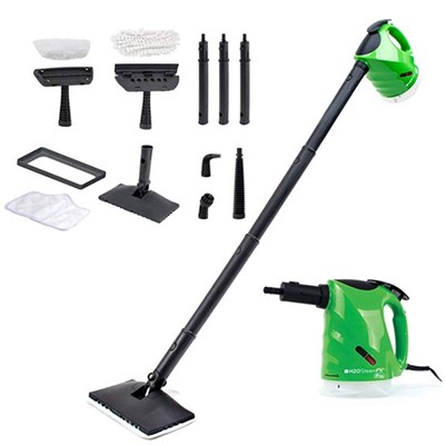 H2O Steam FX Pro Floor and Handheld Steam Cleaner