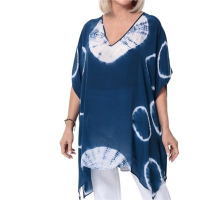 East Hand Tie dye Kaftan Top