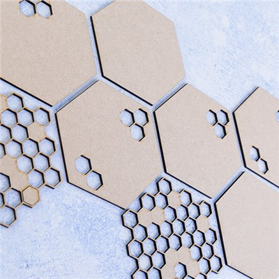 Anna Marie Designs MDF Honeycomb Coasters - Pack of 8