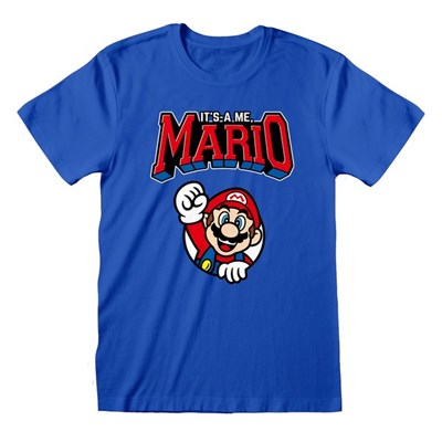 Super Mario Unisex Adult Mario T-Shirt