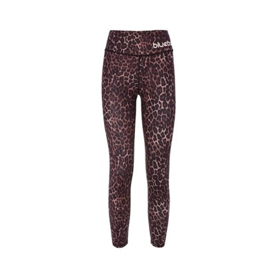 Leopard Tights. Woman Running Leggins In Leopard Colour. A High Tech With Great Flexibility, Soft Feel With Maximum Breathability.