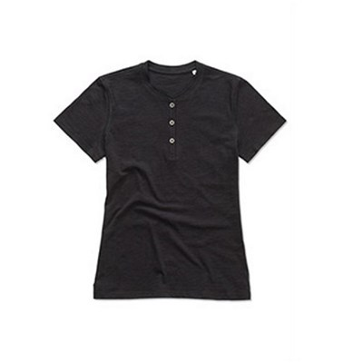Stedman Sharon Womens/Ladies Henley Tee