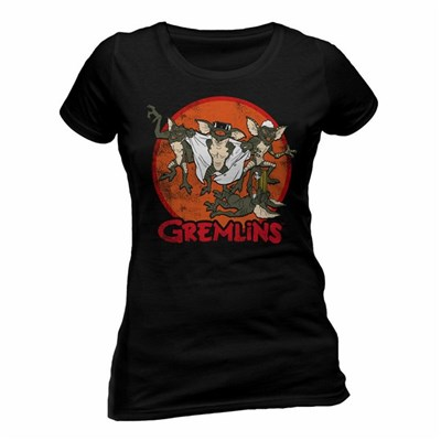 Gremlins Womens/Ladies Retro Group T-Shirt
