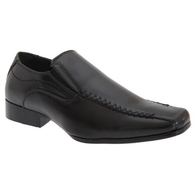 US Brass Boys Raven Twin Gusset Shoes
