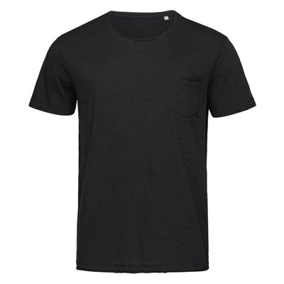 Stedman Mens Shawn Oversized Slub Crew Neck Tee