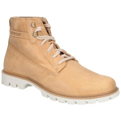 Caterpillar Mens Basis Leather Lace Up Boot