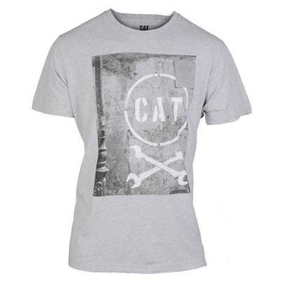 CAT Lifestyle Mens Media Short Sleeve T-Shirt