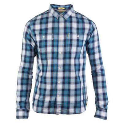CAT Lifestyle Mens Delavan Long Sleeve Plaid Shirt