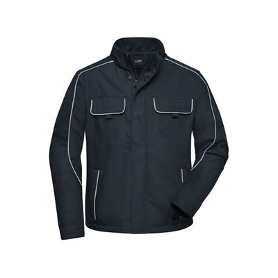 James and Nicholson Adults Unisex Workwear Softshell Jacket