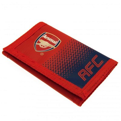 Arsenal FC Touch Fastening Fade Design Nylon Wallet