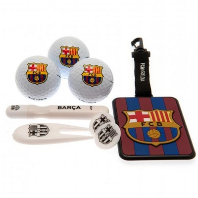 FC Barcelona Premium Golf Gift Set (8 Pieces)