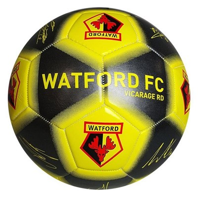 Watford FC Player Printed Signature Signed Football