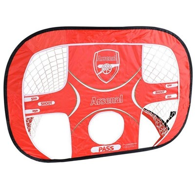 Arsenal FC Target Pop Up Football Goal