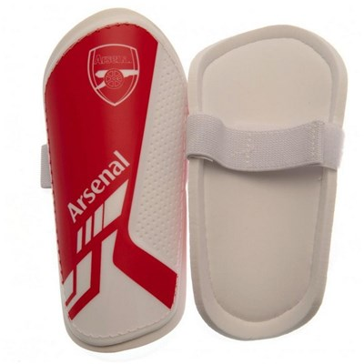 Arsenal FC Childrens/Kids Shin Guards
