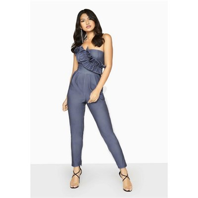 Girls On Film Womens/Ladies Halcyon Frill Jumpsuit