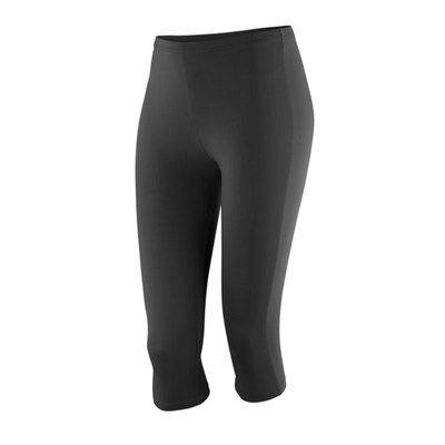 Spiro Womens/Ladies Impact Softex Breathable Capri Pants