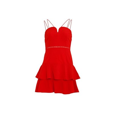 Girls On Film Womens/Ladies Devotion Sweetheart Skater Dress